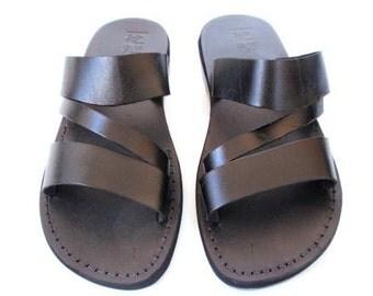 Leather Sandals, Leather Sandals, Men's Sandals, Men's Shoes, GREECE, Flip Flops, Biblical Sandals, Jesus Sandals, Sandal