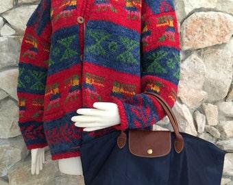 Heavy Wool Sweater Etsy