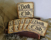 Book Club Coasters - Set of Six