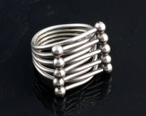 The Sayulita Ring- Sterling Silver Statement Ring