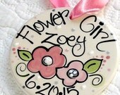 Personalized Flower Girl Ornament