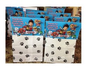 Paw Patrol Favor Bag signs- Customized Digital File