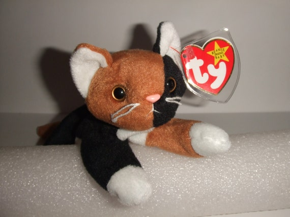 chip the cat beanie babies collection by talisonstreasures on etsy. Black Bedroom Furniture Sets. Home Design Ideas
