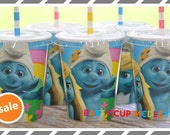 Smurfs Birthday Party-Party Cups-Set of 8