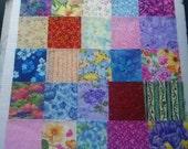 FABRIC FLORAL  CHARM Pack  25 100 Percent Cotton 5 inchPrecut  Quilt Shop  Quality Fabric
