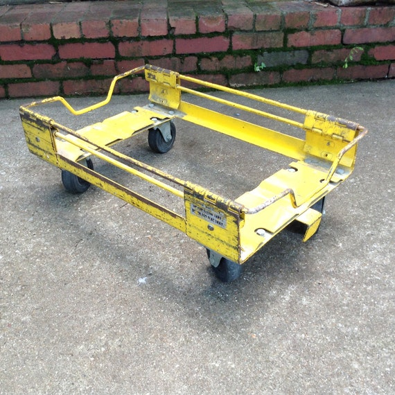 Industrial Rolling Steel Dolly Trolley Cart Base By