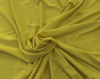 1 3/4 YARDS Dijon Modal Spandex Fabric Jersey Knit 4 Way Stretch