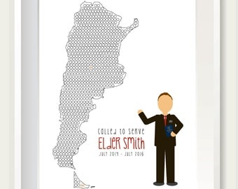Missionary Count Down (Elder) Print
