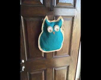Burlap Door Hangers