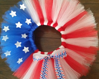 4th of July Stars and Stripes Tutu