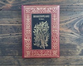 Selected Works • Shakespeare • The Booklovers Library • decorative gift edition • 1980's