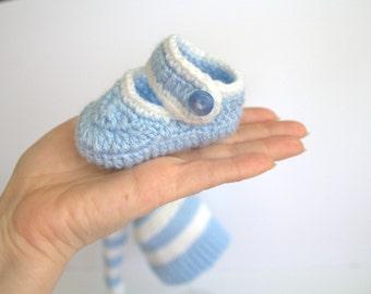 Booties, newborn shoes,crochet booties
