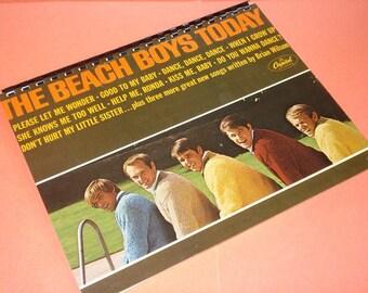 The Beach Boys Journal record album notebook 8 1/2 x 11