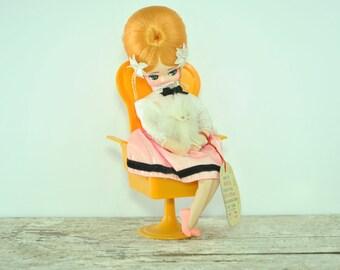 Vintage Pose Doll- Musical Bradley Doll