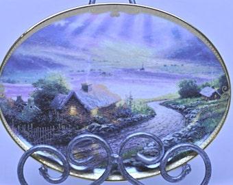Thomas Kinkade Collector's Plate, Emerald Isle Cottage