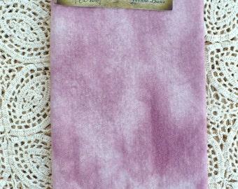 Hand Dyed Wool- 'Peonies' Rug Hooking