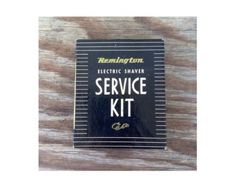 Vintage Shaving Service Kit