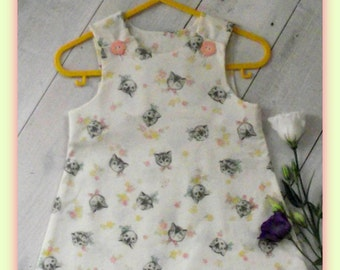 VINTAGE STYLE PINAFORE 3-6 months