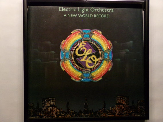 Glittered Record Album - Electric Light Orchestra - A New World Record