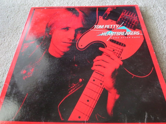 David Jones Personal Collection Record Album - Tom Petty and the Heartbreakers - Long After Dark