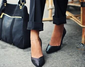 14k Gold Filled Beaded Anklet, Thin Gold Anklet, Minimalist, Gold Anklet