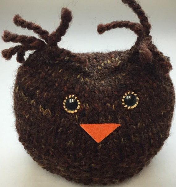 Barn Owl Softie Knit Amigurumi