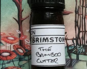 The Bamboo Cutter perfume oil - jasmine tea, lotus blossom, bamboo, sunflower, moonflower, cypress