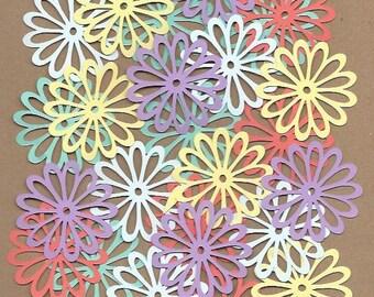 25 2 inch Flowers Sugar Candy Cricut Die Cuts