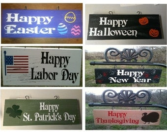 Yard Signs, Personalized Yard Signs, Family Signs, Garden Signs, Lawn Ornaments, Father's Day Gifts