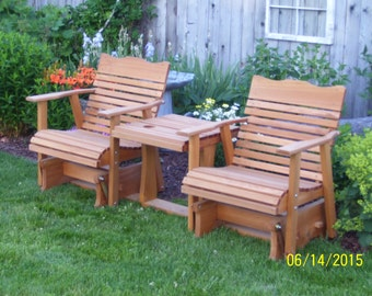 Amish Crafted 6' Settee Cedar Glider