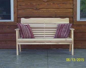 Amish Crafted 4' Cedar Bench