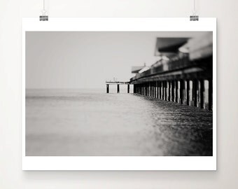 black and white photography ocean photograph southwold pier photograph architecture photography southwold photograph coastal print