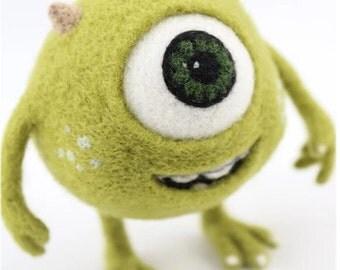 Monster University's Mike Needle Felting Figure DIY Kit