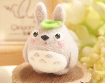 Totoro Needle Felting DIY Kit