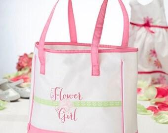 flower girl  tote bag nice size