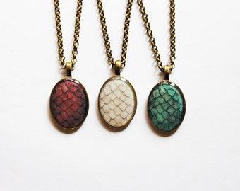 The Khaleesi Dragon Egg Necklace in Bronze Tone - Game of Thrones Jewelry - Dragon Egg Pendant - Dragon Egg Necklace - Daenerys Necklace