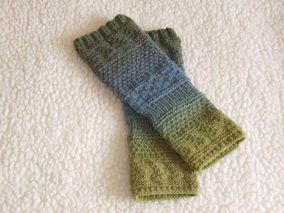 Items Similar To Womens Mens Fingerless Gloves Knit Gloves -3834
