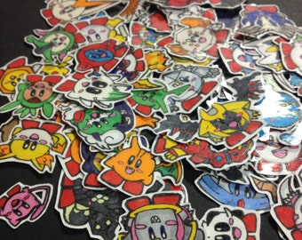 Pokemon Kirby Sticker Set