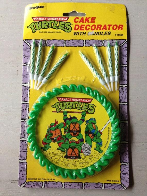Vintage Ninja Turtles Cake