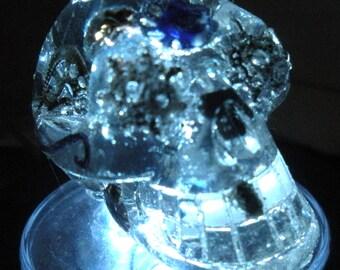 Orgone Transducer Calavera Skull Sm Clear