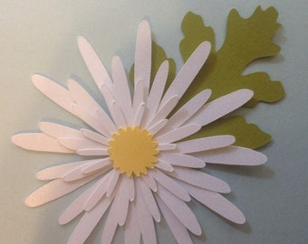 Build a Blossom- Do It Yourself Flower Kit/White Daisy Kit