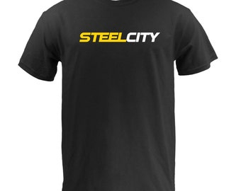 Steel City (Gold White) - Black