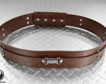 Saber Belt Cosplay Accessory. Similar to star wars jedi sith leather costume belt for lightsaber.