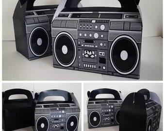 Large Radio, Boom Box, Goodie Bags, Goodie Boxes, Party Favors