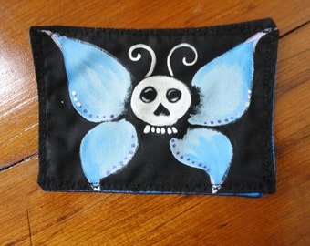 Skull Butterfly Patch