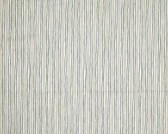 Sullivan Sky stripe cotton fabric by the yard Magnolia Home Fashions