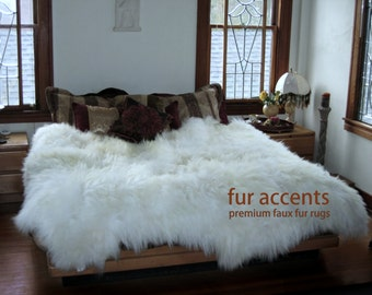 ikea apartment sheepskin rug faux fur carpet vidalondon