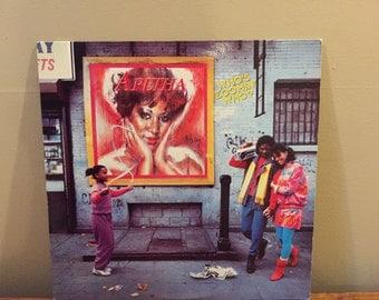 "Aretha Franklin ""Who's Zoomin Who?"" vinyl record"
