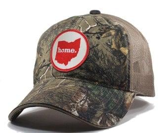 Homeland Tees Ohio Home Camo Trucker Hat - Realtree