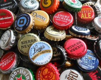 Beer Caps,Beer craft, Assorted Beer, Bulk Beer Caps, Upcycle, Beer Bottle Caps, Craft Beer